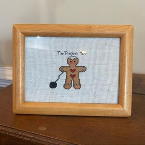 The Perfect Man Cross Stitch Picture Gift Funny